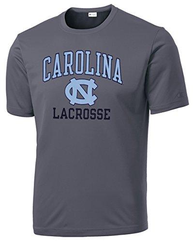 (North Carolina Tar Heels Lacrosse Tee - Youth-Large)