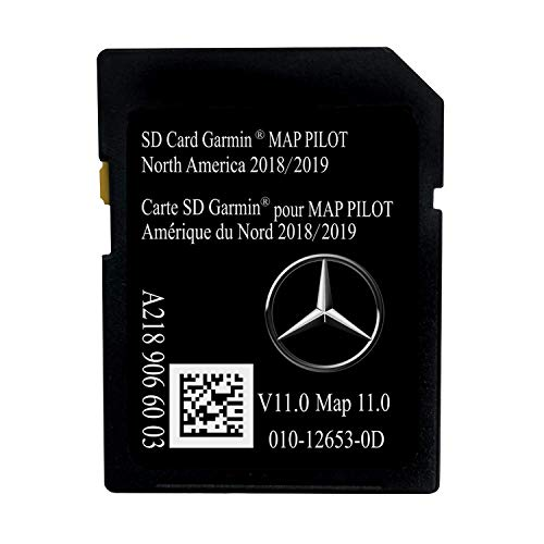 Latest 2018/2019 Navigation SD Card 2019 2018 2017 Version A2189066003 for Mercedes B C CLA GLA GLC SLC
