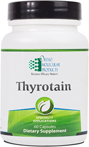 Ortho Molecular - Thyrotain - 60 Capsules by Ortho Molecular