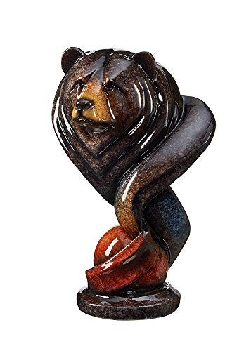 Loverboy - Black Bear Imago Sculpture by Stephen Herrero by Wild Wings