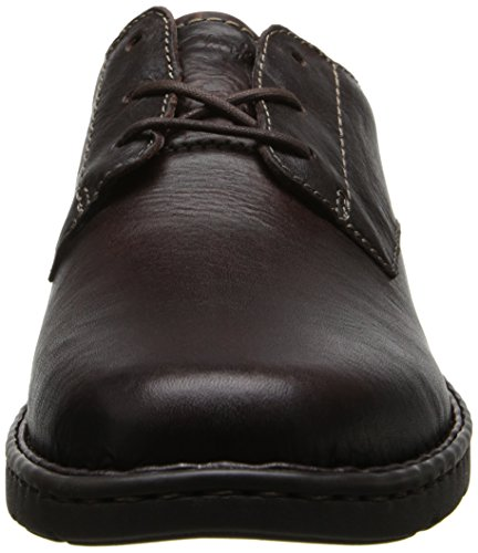 Clarks Mens Stratton Way Oxford Brown