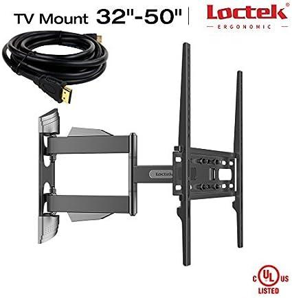 Loctek – Soporte de pared para televisor (giratorio, inclinable ...