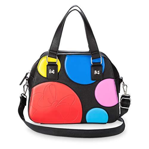 Purse Boutique (Disney Boutique Satchel Minnie Mouse Rocks The Dots Handbag Purse)