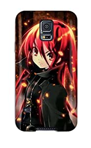 New Style Galaxy S5 Case Cover - Slim Fit Tpu Protector Shock Absorbent Case (shakugan No Shana) 2219218K51249588