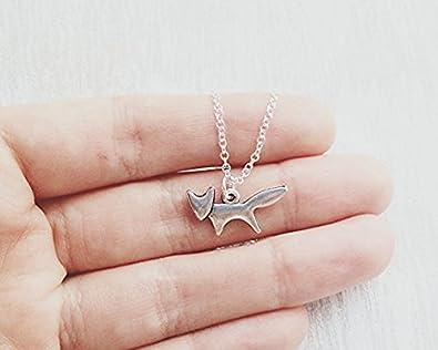 Bridesmaids Necklaces | Amazon Com Silver Fox Necklace Wedding Necklace Bridesmaids