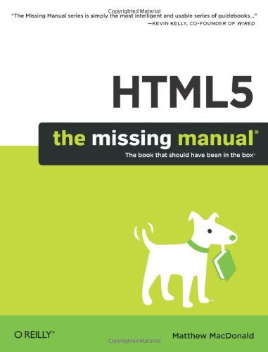 [PDF] HTML5: The Missing Manual Free Download | Publisher : O'Reilly Media | Category : Computers & Internet | ISBN 10 : 1449302394 | ISBN 13 : 9781449302399