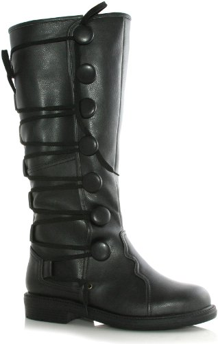 Ellie Shoes Inc Men's Renaissance Boot Black Size 12/13 (Adult Renaissance Boots)