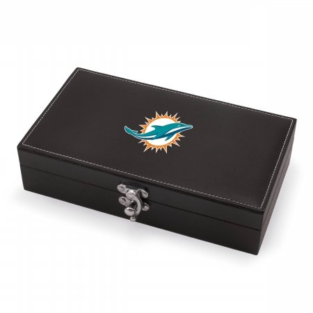 NFL Miami Dolphins Syrah 5-Piece Wine Accessories Set in Black Gift -