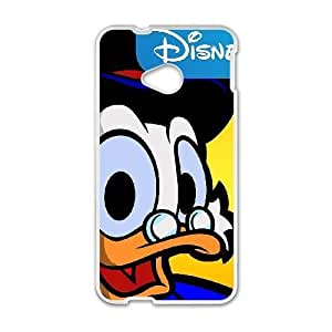HTC One M7 teléfono Cese blanco DuckTales Scrooge McDuck EF1197158