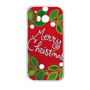 HTC One M8 Cell Phone Case White Christmas Wreath ISU210871