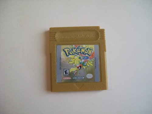 Pokemon Gold Version Game [Game Boy Color] (Game Boy Pokemon Gold)