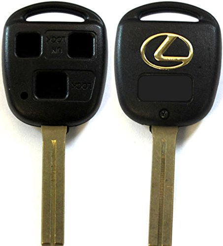 3 Buttons Remote Key Short Blade Shell For Lexus RX GS IS ES GX (Blade Remote)