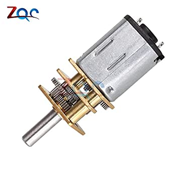 Tools Cheap Price Dc 12v 300rpm Gear Motor Electric Speed Reduction Shaft Diameter Reduction Gear Motor Full Metal Gearbox For Rc Robot Model Diy Hand & Power Tool Accessories