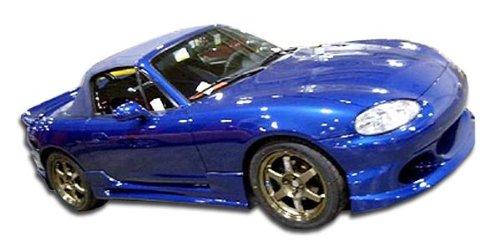 1998-2005 Mazda Miata Duraflex Bomber Side Skirts Rocker Panels - 2 Piece - Miata Side Skirts