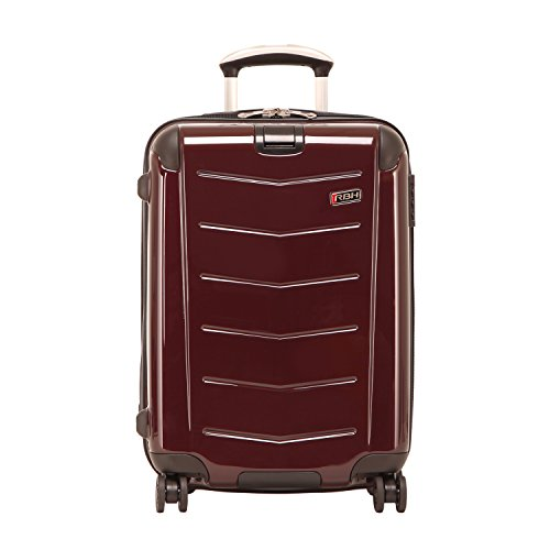 Ricardo Beverly Hills Luggage Rodeo Drive 21-Inch 4-Wheel Expandable Wheelaboard, Black Cherry, One - Beverly Drive Hills