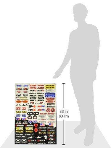 Sponsor//Logo Sticker Sheet Factory Effex 10-68014