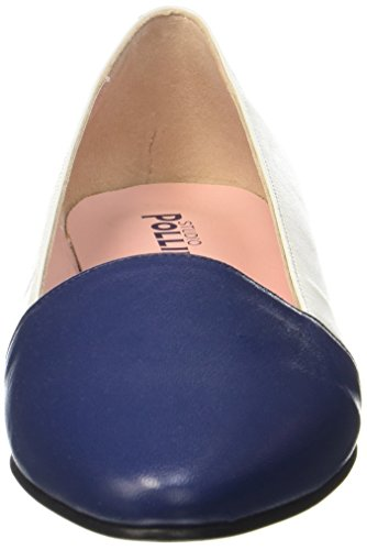 Pollini Signore Ballerina Blu / Bianco