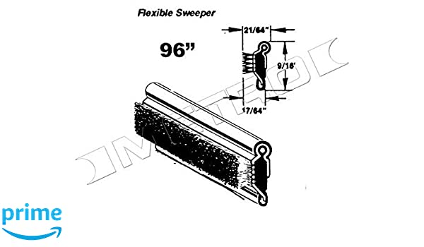 Metro Moulded Parts WC 23-96 Flexible Window Sweeper