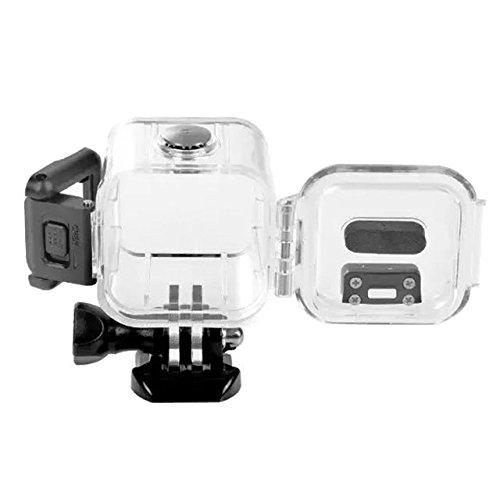 Nechkitter 132ft(40M) Waterproof Housing for GoPro Hero4 Hero5 Session Action Camera , Replacement Waterproof Case Cover, Protective Case Accessory Kit With Bracket For GoPro Hero 4 hero 5 session by Nechkitter