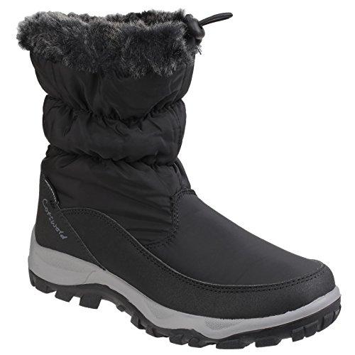 Cotswold frost Infilare Nero Stivali Invernali Facili Da Donna rrwadOpqx