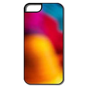IPhone 5/5S Cases, Rainbow Glas White/black Covers For IPhone 5 5S by Maris's Diary