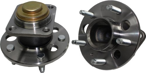 - Brand New (Both) Rear Wheel Hub and Bearing Assembly for Buick Cadillac Chevy Olds Pontiac 5 Bolt FWD W/o ABS (Pair) 513018 x2