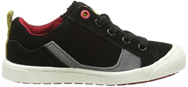 Kickers Boys' Zigzaguer Low-Top Sneakers Black Size: 1 UK (33 EU)