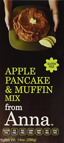 Nut Bread Apple - Breads from Anna, Apple Pancakes & Muffins Mix, 14-Ounce