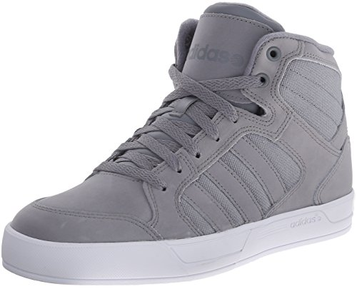 adidas NEO Men's Raleigh Mid Lace Up Shoe,Grey/Grey/White,7 M US