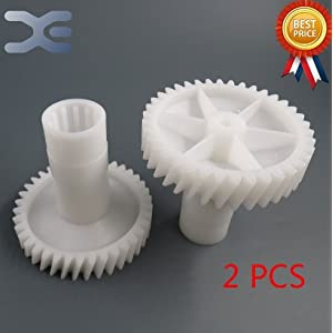 Star Trade Inc - Meat Grinder Parts Mincer Gear Fit Saturn Zelmer 886 986 Plastic Gear ( 2pcs)