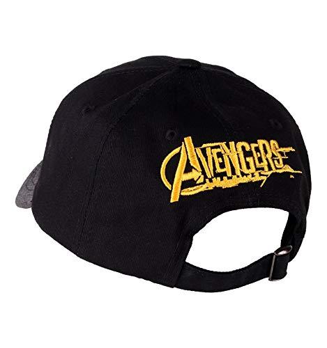 Marvel Casquette Infinity Wars-Logo Avengers visi/ère Mixte Taille Fabricant:Taille Unique Multicolore Multicouleur,