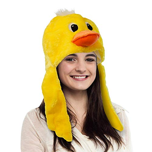 American Carnival Mart Hat-A-Mals Plush Stuffed Duck Hat