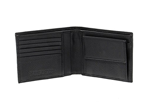 Bikkembergs Leather BKE3704 Wallet Black Men's Men's Bikkembergs BKE3704 Leather Black qrAw6Cq