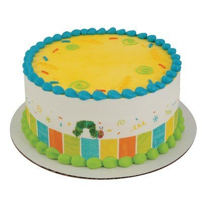 The Very Hungry Caterpillar Strips Licensed Edible Cake Topper #58127