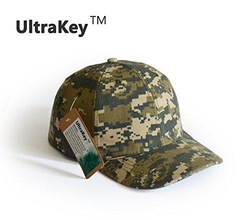 Baseball cap ultrakey army military camo cap baseball for Camo fishing hat