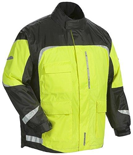 - Tourmaster Sentinel 2.0 Hi-Viz Black Jacket size Large