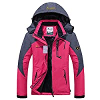 Deals on Alomoc Womens Winter Hiking Jacket Waterproof