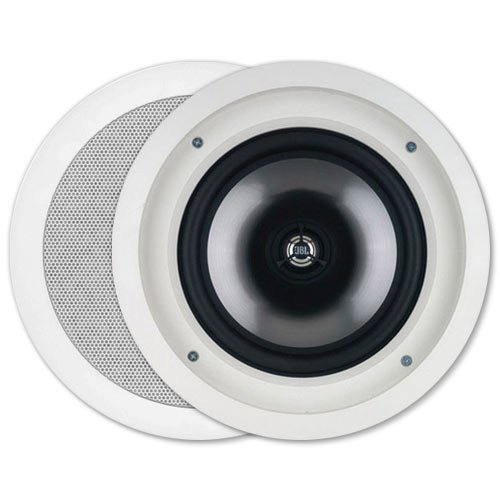 Leviton AEC80 Architectural Edition powered by JBL 8-Inch In-Ceiling Speaker, White