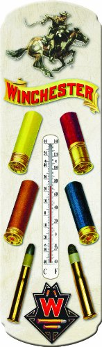 Hunting Winchester - River's Edge Products Winchester Ammunition Tin Thermometer