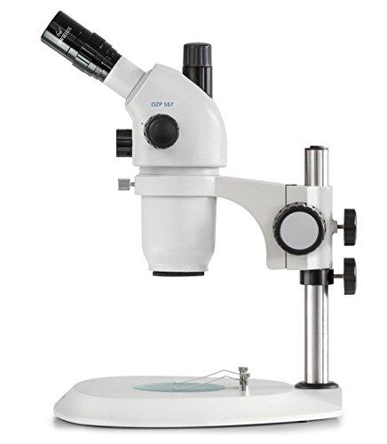 Stereo-Zoom Mikroskop [Kern OZP 557] Das Hochwertige Hochwertige Hochwertige für flexible und professionelle Anwender, Tubus  Trinokular, Okular  HSWF 10x Ø23 mm, Sehfeld  Ø38,3-4,2 mm, Objektiv  0,6x - 5,5x, Ständer  Säule B00UXR39D0   Attraktives A 855671