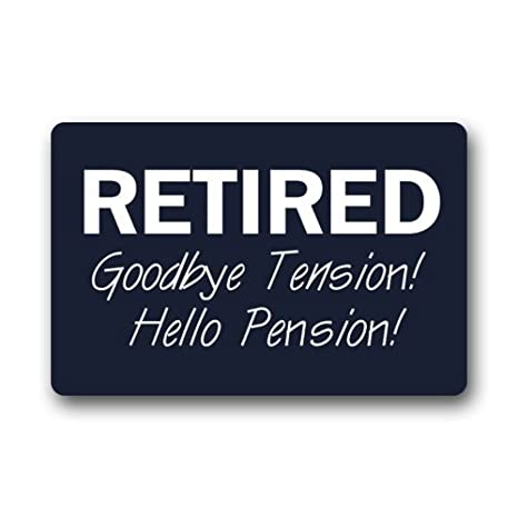 Funny Retirement Quotes Fascinating Amazon NonSlip Rectangle Funny Retirement Quotes Sayings