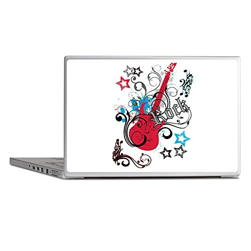Laptop Notebook 11-12 Inch Skin Cover Rock Guitar Music Notes Treble Clef