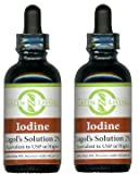 Lugol's Iodine 2% Solution 2 pack Potassium Iodide Supplement 2 oz bottles with dropper Review