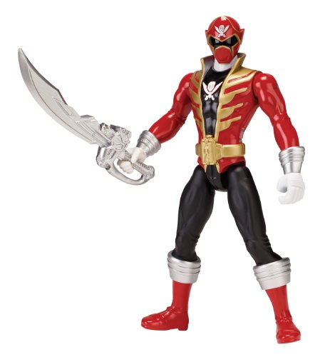 Power Rangers Super Megaforce - Deluxe FX Super Mega Red Ranger Action Figure, 10-Inch