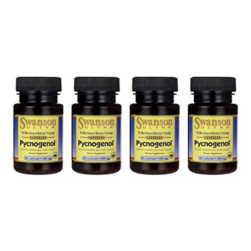 Swanson Pycnogenol 100 mg 30 Caps 4 Pack by Swanson (Image #6)