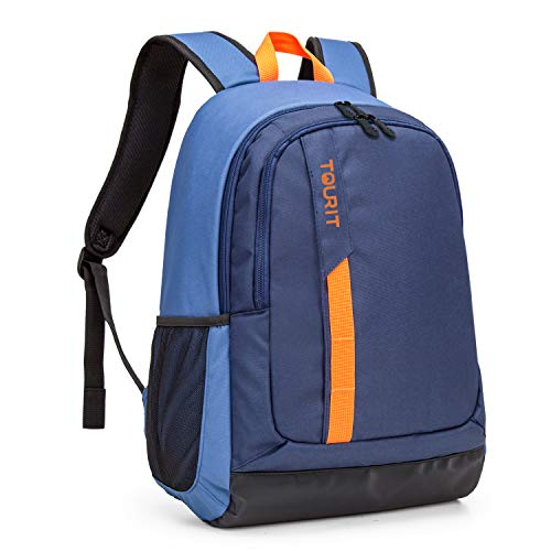 TOURIT Cooler Backpack Lightweigh Lunch Backpack Cooler 28 Cans Insulated Cooler Backpack for Picnic, Hiking, Camping, Beach, Park Day Trips (To Have A Chip On Your Shoulder)