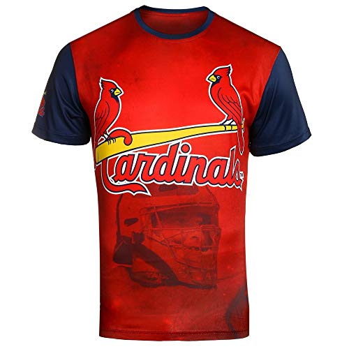 - FOCO MLB ST. Louis Cardinals Molina Y. #4 Watermark Player TEE Large