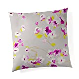 Glenna Jean Bloom 18''x 18'' Pillow with Fill for Baby Nursery, Decorative Soft Cushion Square