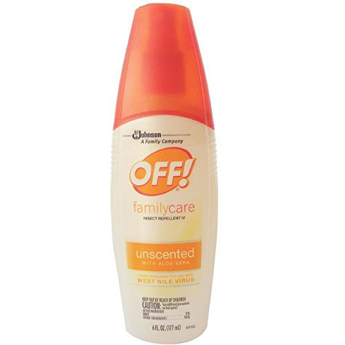 - OFF! Family Care Unscented With Aloe Vera 6 oz (Pack of 3)