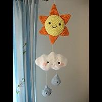 Weather Mobile Crochet Pattern